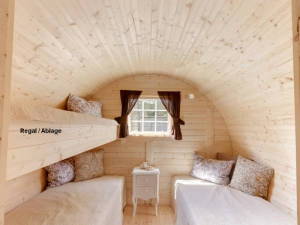 Wolff Finnhaus Campingfass Mega: 3 Betten