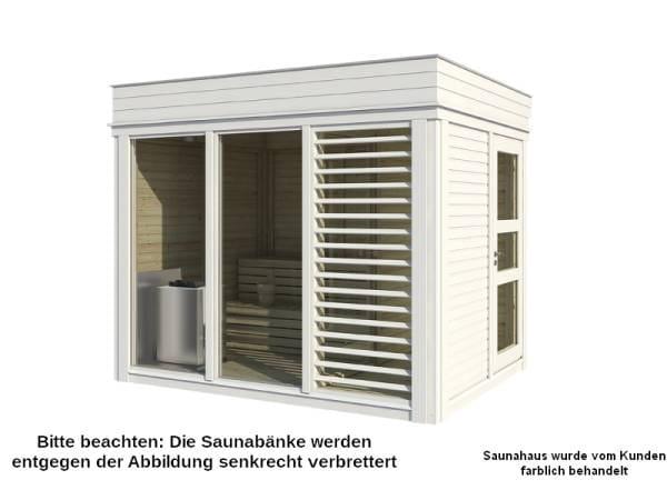 Wolff Finnhaus Sauna Paradiso 3x2 1-Raum