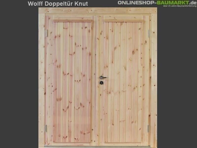 Wolff Finnhaus Doppeltür Knut 58