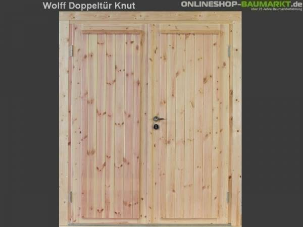 Wolff Finnhaus Doppeltür Knut XL 28