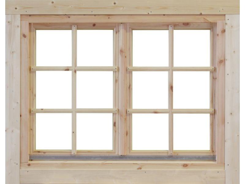 Wolff Finnhaus Doppelfenster Alina 40