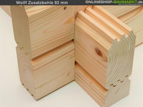 Wolff Finnhaus Zusatzbohle 92 mm je lfm.