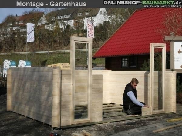 Montage Wolff Finnhaus Grillkota 9 (Deutschland)