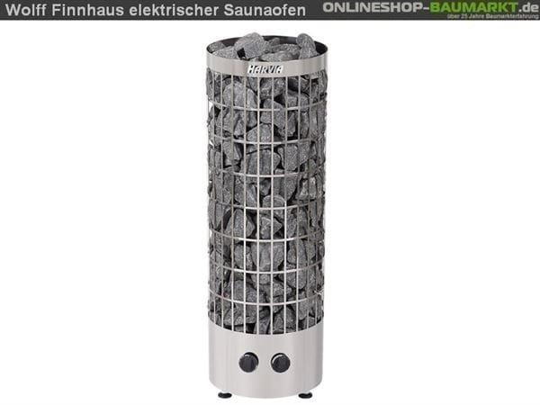 Wolff Finnhaus Bausatz Saunaofen 9 KW für Saunafass