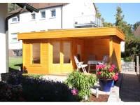 Wolff Finnhaus Flachdachhaus Maja 40-A mit Terasse 350 cm
