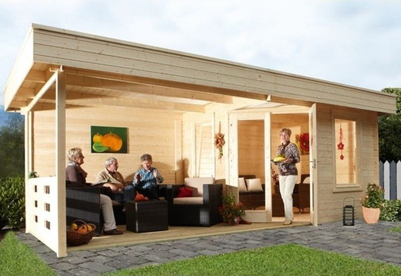 wolff finnhaus 5 eckhaus nina 28 b mit terrasse mit. Black Bedroom Furniture Sets. Home Design Ideas