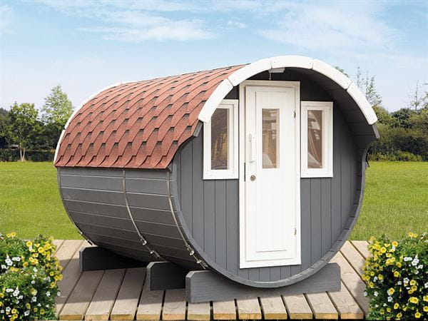 Wolff Finnhaus Saunafass 330 als Bausatz