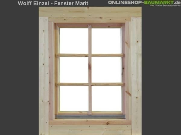 Wolff Finnhaus Einzelfenster Marit 34 natur