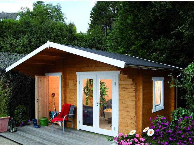 Wolff Finnhaus Gartenhaus Caro 58-C Modern ISO