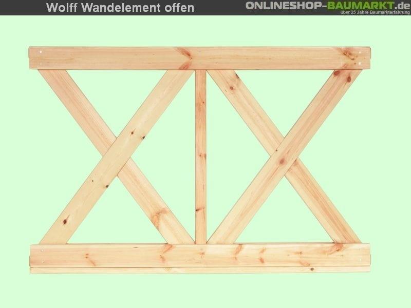 Wolff Finnhaus Wandelement X klein Kreta 8 XL