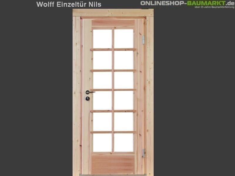 Wolff Finnhaus Einzeltür Nils XL 28