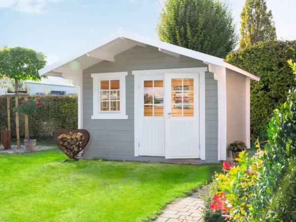 Wolff Finnhaus Gartenhaus Lisa 44-A naturbelassen