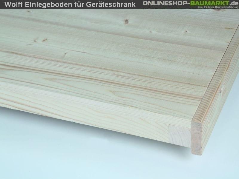 Wolff Finnhaus Einlegeboden Geräteschrank 20 - C