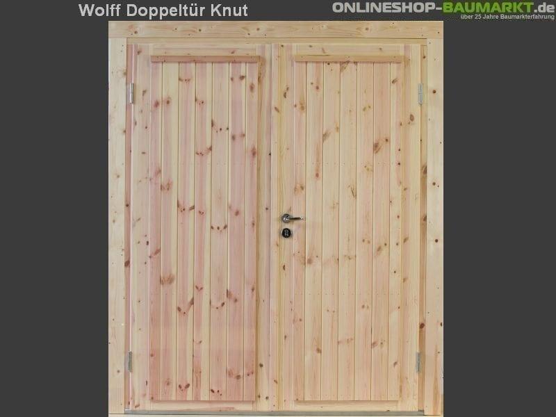 Wolff Finnhaus Doppeltür Knut 28