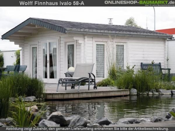 Wolff Finnhaus Gartenhaus Ivalo 58-A