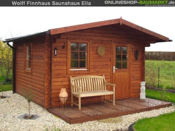 Wolff Finnhaus Saunahaus Ella 70