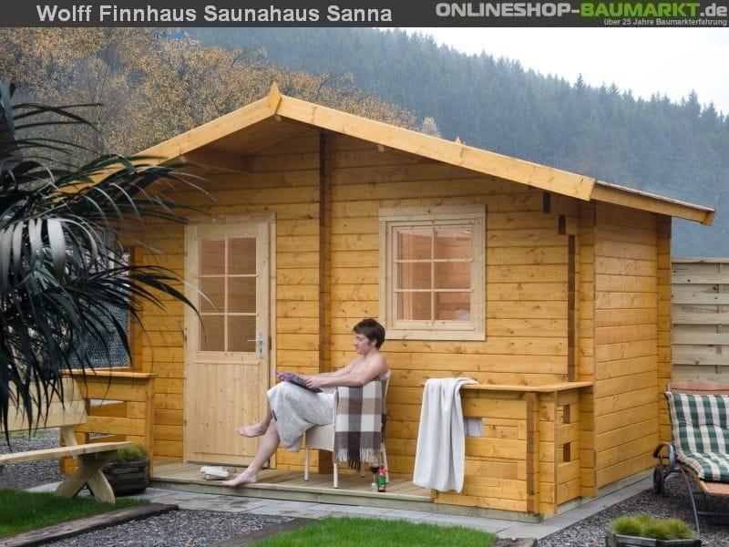 Wolff Finnhaus Saunahaus Sanna 70
