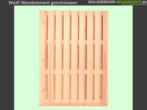 Wolff Finnhaus Wandelement geschlossen Kreta 8