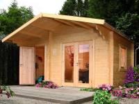 Wolff Finnhaus Gartenhaus Caro 34 Modern XL