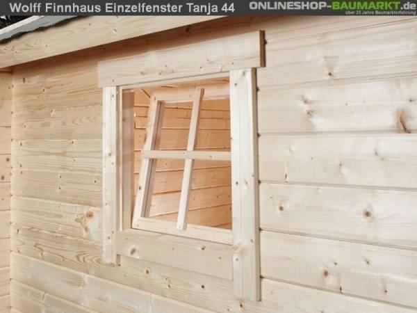 Wolff Finnhaus Einzelfenster Tanja 28 natur