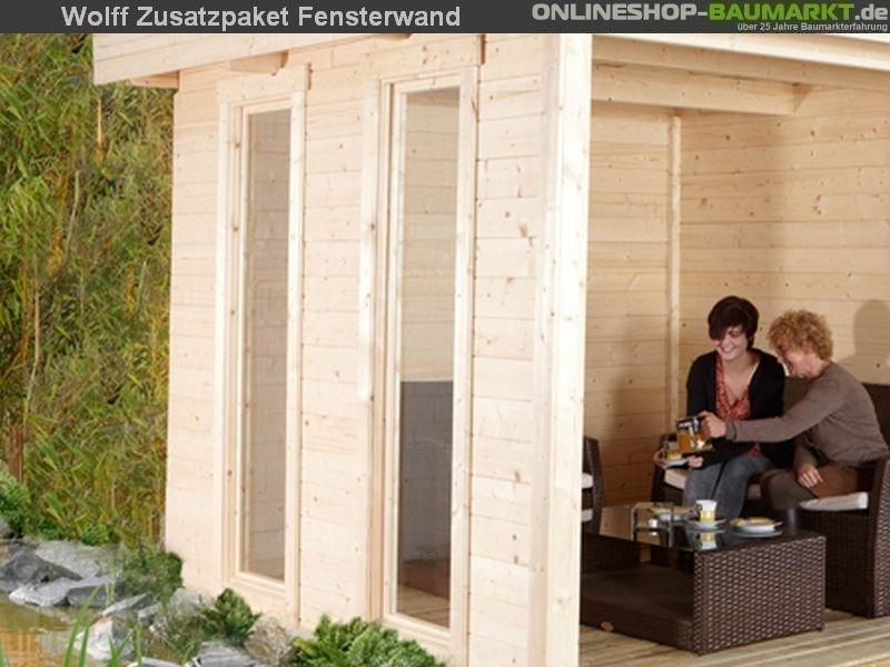 Wolff Finnhaus Zusatzpaket Fensterwand