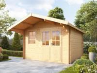 Wolff Finnhaus Gartenhaus Lisa 44-B XL