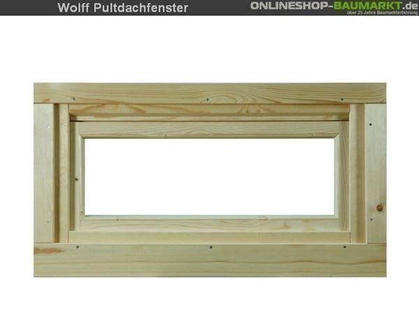 Wolff Finnhaus Pulti Kipp- Fenster 40 Klarglas