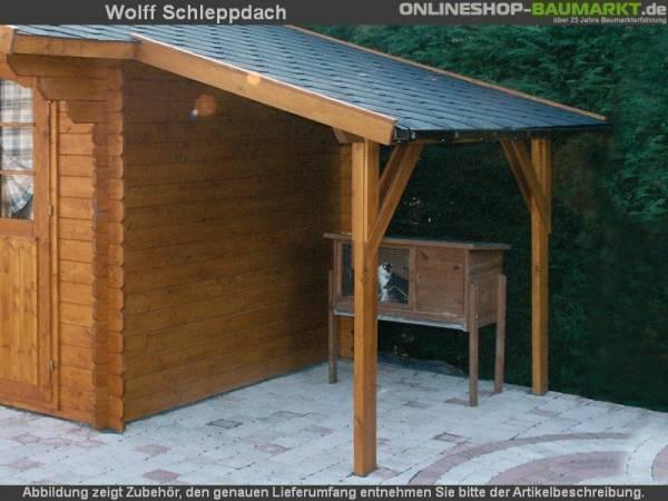 Wolff Finnhaus Schleppdach B natur