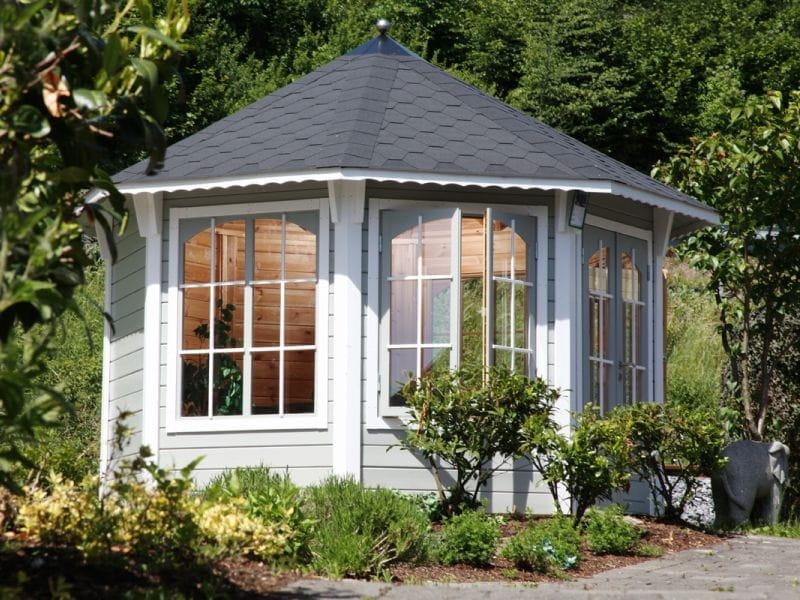 wolff finnhaus pavillon capri 3 5 natur 3 5 x 3 5 m 660040 gartenlaube gartenpavillon laube. Black Bedroom Furniture Sets. Home Design Ideas
