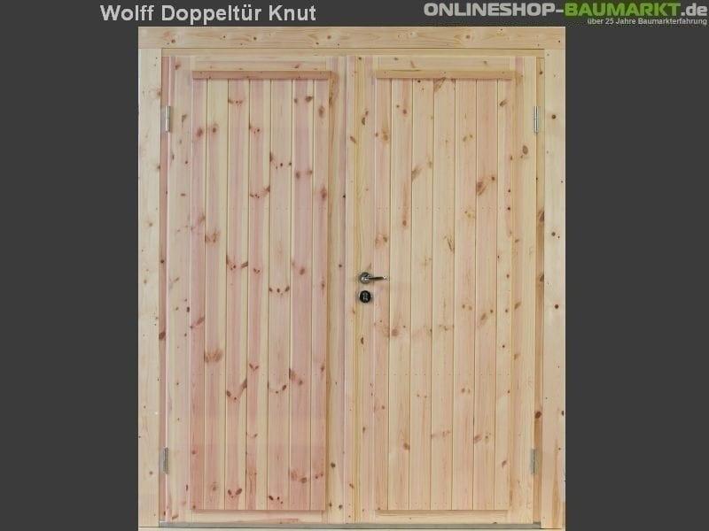 Wolff Finnhaus Doppeltür Knut XL 70
