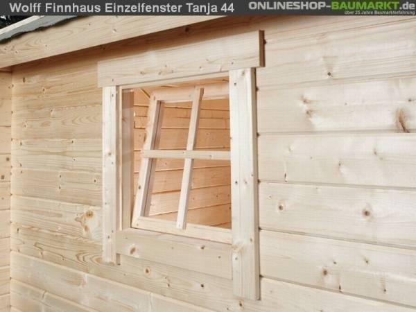 Wolff Finnhaus Einzelfenster Tanja 44 natur