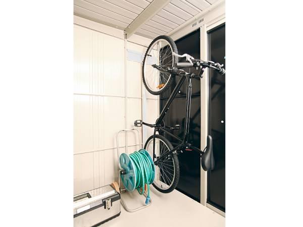 Wolff Finnhaus Fahrradhalter Wand 20 für Metall-Gerätehaus